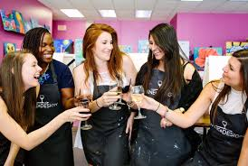 Wine And Design Bachelorette Party Party Planning For Weddings And Engagement With Wine Desig