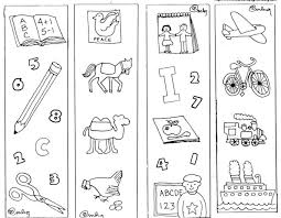 The bookmarks feature animals in santa hats, presents, christmas treats, and more with positive messages about books and reading. Adorable Bookmark Coloring Pages For Kids
