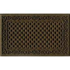 trafficmaster brown 18 in x 30 in door mat