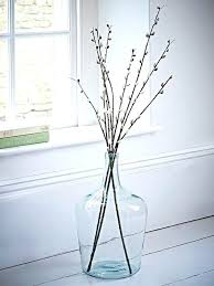 glass jug vases tall faux willows in glass jug this is just an image to glass jug vases
