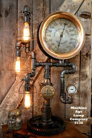 steampunk lighting. Great Works Of Steampunk Art\u2014be They Novels, Movies, Comic Books, Clothing, Events, Or Furniture\u2014have Something For Everyone. Carefully Blend Our Past Lighting S
