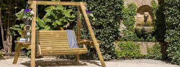 wooden garden swings timber quality wooden garden furniture 2 and 3 seater swings pepe