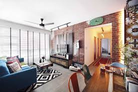 An HDB Flat With An Industrial Kampong Vibe Lookbox Living Cool Mid Century Bathroom Remodel Minimalist