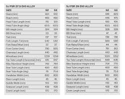 Stumpjumper 2019 Size Chart 2019 Specialized Stumpjumper Stumpjumper St Stumpjumper