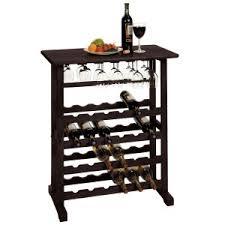 standing wine rack. Vinny Dark Espresso 24 Bottle Wine Rack Standing 2