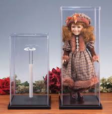 plastic doll cases with stand for small dolls plastic display case doll case