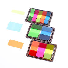 1 Set Kawaii <b>Candy Fluorescent color</b> Sticky Notes Diy Planner ...