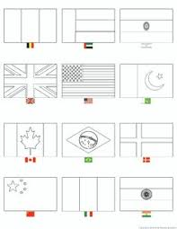 country flags coloring pages one print