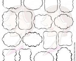fancy frame border. Fancy Frames Svg Vector Clipart Files - Great To Make Labels, Tags, Invitations, Frame Border