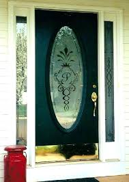 front door glass panels replacement replacing door glass delightful design replace glass panel in door with