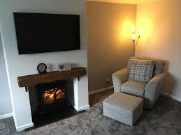 pretty wall mounted fireplace ideas in grey living room with mantle fireplace with wall mounted tv