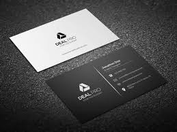 Simple Business Card Template Ad Affiliate Features