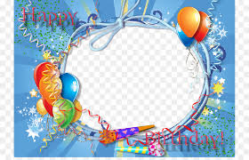happy birthday to you android picture frame blue frame