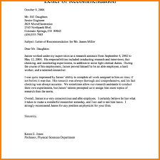Sample Of Personal Letter Of Recommendation 11 Example Personal Letter Leterformat