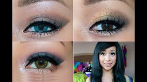 homeing makeup tutorial 3 looks for 3 diffe eye colors