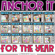Printable Kindergarten Anchor Charts For The Year Phonics Anchor Charts