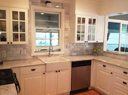 carrara marble grey gray and white kitchen with stainless steel appliances traditional kitchen