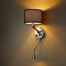 headboard lighting. modern style hotel bedside wall lamp headboard reading lighting