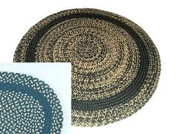 round braided rugs colorful rug wool made