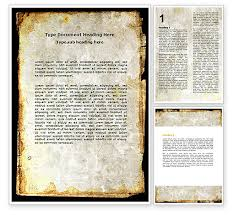 Word Background Template Rusty Background Word Template