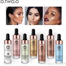 o liquid highlighter make up primer shimmer face glow ultra concentrated illuminating bronzing drops face makeup best highlighter for face bronzer tanning