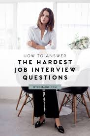 best ideas about interview questions job this is exactly how to answer 5 impossible interview questions