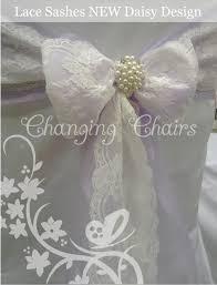 vintage and lace wedding venue decoration