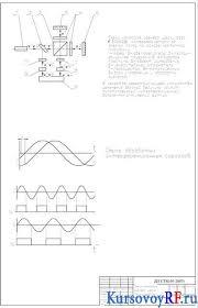 Усовершенствование процесса производства деталей курсовой проект с   Чертеж схема контроля размера шейки вала маховика