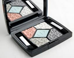 dior glowing gardens spring 2016 5 couleurs eyeshadow palette in blue gardens