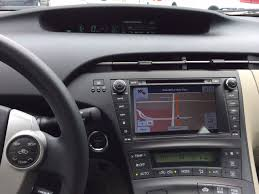 11 Toyota Prius Two with Android 4.4.4 Kit Kat Head unit Upgrade ...