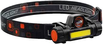 <b>LED Headlamp Magnetic USB</b> Rechargeable Headlight with XPE ...
