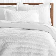 Celeste White Duvet Covers and Pillow Shams | Crate and Barrel &  Adamdwight.com