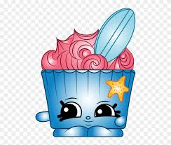 Png Free Library Waverley Cupcake A Common Shopkin Clipart 2690635