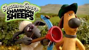 Bắn cung   Championsheeps   Những Chú Cừu Thông Minh [Shaun the Sheep] -  YouTube