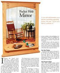 mirror frame plans