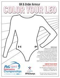 Tremendous Leotard Coloring Pages Gymnastics S Printable Leopard To