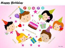 Kids Powerpoint Background Powerpoint Backgrounds Happy Birthday Kids Powerpoint