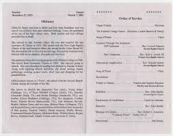 Funeral Program for Hilda M. Henry, March 13, 2001] - Page 2 of 3 - The  Portal to Texas History