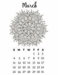 calendar 2018 free printable free printable 2018 calendar mandala coloring pages slap dash