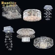 ceiling crystal chandelier modern crystal chandeliers for home decorative lighting hanging lamp led ceiling light low