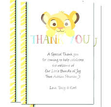 thank you notes for baby shower wording note amazing ideas gift beautiful