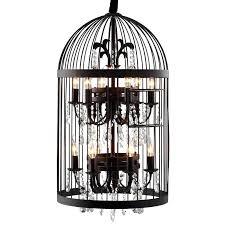 bird cage chandelier modern furniture canary bird cage chandelier iron w crystals in a rusted finish restoration hardware birdcage chandelier diy