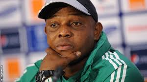 A Disrespecting Word To Super Eagles coach Stephen Keshi From Yobo.