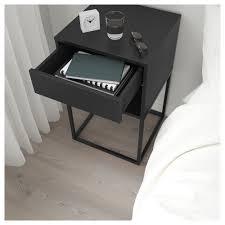 Vikhammer Nachtkastje Zwart Ikea