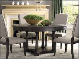 round kitchen table black