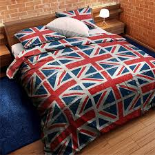 Amazon UNION JACK RED WHITE BLUE TWIN FLAG FORTER DUVET