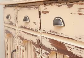 painting laminate furnitureMilk Paint Laminate Furniture  Country Farmhouse Hutch  Salvaged