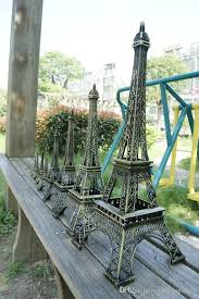 france paris 3d eiffel tower model alloy eiffel tower desk table office home decoration special gift all home decor asian decor from weddingcarpet