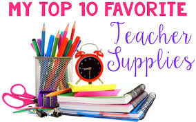 My Top 10 Favorite Teacher Supplies Ashleighs Education
