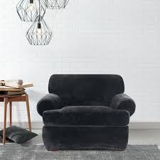 slipcovers idea mesmerizing sure fit club chair slipcover for couch with 2 recliners black wingback interesting